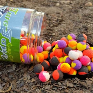 Fluo Two Tone Pop Up's 12mm-80gr gemischt